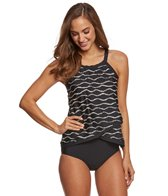 Penbrooke Desert Sands Cross Over Tankini Top