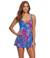 Penbrooke Bali V-Neck Swimdress
