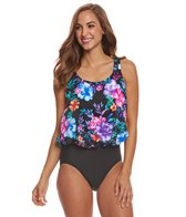 Penbrooke Gracious Mastectomy Blouson One Piece Swimsuit