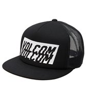 Volcom Men's Swiss Cheese Trucker Hat