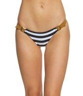 Blue Life Swimwear Stripe Buckled Skimpy Bikini Bottom