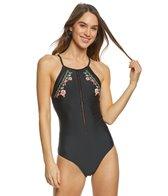 Body Glove Espagnola Millie High Neck One Piece Swimsuit