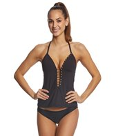 Kenneth Cole Button Up Tankini Top