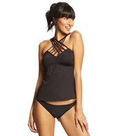Kenneth Cole Sexy Solids Strappy Tankini Top