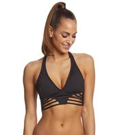 Kenneth Cole Sexy Solids Strappy Halter Bikini Top