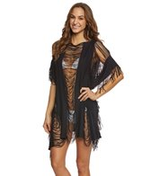 Kenneth Cole Sassy Fringe Cover Up Tunic