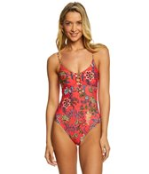 Ella Moss Floral Romance One Piece Swimsuit