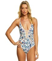 Ella Moss Folktale Floral One Piece Swimsuit