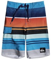 Quiksilver Boys' Everyday Stripe Vee Boardshort (Little Kid)