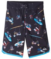 Quiksilver Boys' Moto Mayhem Boardshort (Little Kid)