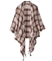 Billabong Girls' Scenester Drape Front Cardigan