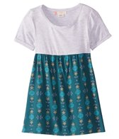 Roxy Girls' Branche of Lilac 2 Short Sleeve Tee Dress (Big Kid)