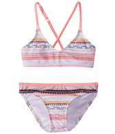 Roxy Girls' Little Indi Athletic Tri Set (Little Kid)