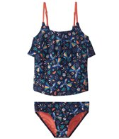 Roxy Girls' Birdy Tankini Set (Little Kid)