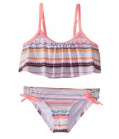 Roxy Girls' Little Indi Flutter Set (Little Kid)