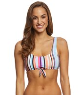 Kenneth Cole Reaction Over the Rainbow Tie Front Bikini Top