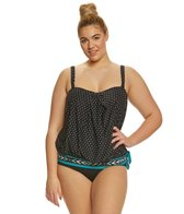 Coco Reef Plus Size Pacific Stone Grace Tankini Top