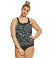 Coco Reef Plus Size Painted Desert Ultra Fit Tankini Top
