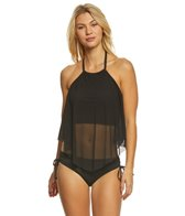 Coco Reef Classic Solid Aura Tankini Top (C/D/DD Cup)