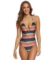 Vix Bonaire Geometric One Piece Swimsuit