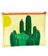 SunnyLife See Thru Pouch Cactus