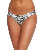 Vix Pearl Black Full Banded Hipster Bikini Bottom