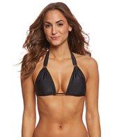 Vix Black Solid Bia Bikini Top (D/DD-Cup)