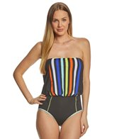 Anne Cole This Bud S For You Bandeau One Piece Swimsuit At