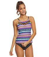24th & Ocean Sonora Senora High Neck Tankini Top