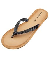 O'Neill Women's Lucille Braided Leather Flip Flop
