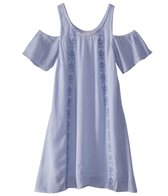 O'Neill Girls' Arie Cold Shoulder Dress (Big Kid)