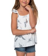 O'Neill Girls' Violet Flutter Tank (Toddler, Little Kid)