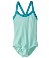 Splendid Girls' Colorblocked One Piece Swimsuit (Big Kid)