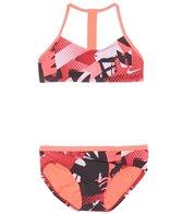 Nike Girls' Swim T-Back Top Set (Big Kid)