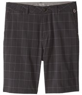 Quiksilver Men's Union Plaid Amphibian 21 Hybrid Walkshort