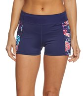 Tommy Bahama Women's Graphic Tropics Boy Shorts w/Pockets