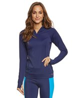 Tommy Bahama Women's Pullover Hooded Rashguard