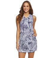 Tommy Bahama Women's Paisley Paradise Hooded Spa Dress