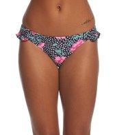 Motel Sakila Ruffle Floral Hipster Bikini Bottom
