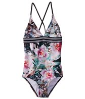 Next Girls' Undercover Tropics Fixed Halter One Piece Swimsuit (Big Kid)