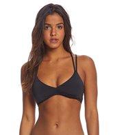Bikini Lab Solid Strappy Bralette Bikini Top