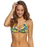 Jessica Simpson Lanakai Twist Front Bikini Top