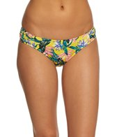 Jessica Simpson Lanakai Side Shirred Hipster Bikini Bottom