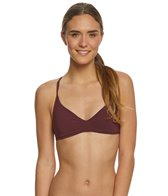 Boys + Arrows Burgundy Dylan Bikini Top