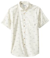 Billabong Men's Sundays Mini Short Sleeve Tailored Woven Top