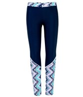 Snapper Rock Girls' Boho Swim Leggings (Little Kid, Big Kid)