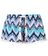 Snapper Rock Girls' Boho Swim Shorts (Little Kid, Big Kid)