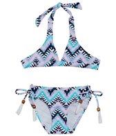 Snapper Rock Girls' Boho Classic Bikini Set (Toddler, Little Kid, Big Kid)