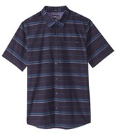 O'Neill Men's Short Sleeve Stripe Button-Up Shirt
