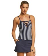 Nautica Mini Stripe Swimdress
